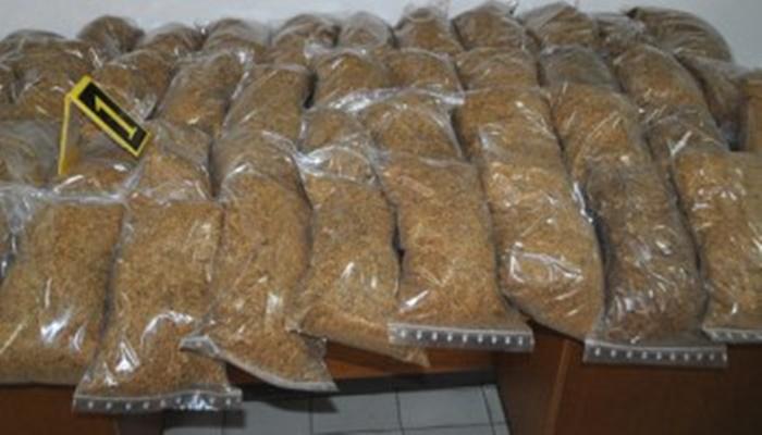 Na području Obudovca oduzet duhan u vrijednosti od 170.000KM