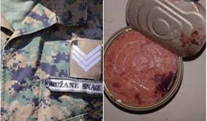 Pripadnicima Oružanih snaga BiH u konzervama s junetinom isporučena svinjetina