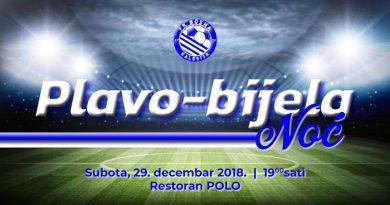 """FK Bosna Kalesija organizuje drugu """"Plavo-bijela noć"""""""