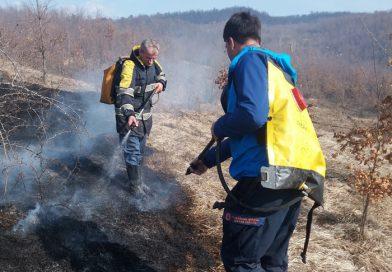 Kalesijski vatrogasci gasili požar u Starom Selu