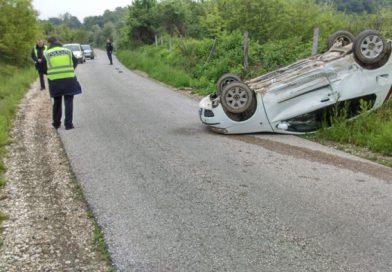 U saobraćajnoj nesreći koja se jutros dogodila nema povrijeđenih osoba