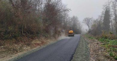 Završeno asfaltiranje puta Dubnica-Hrasno Gornje